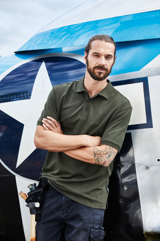Men´s BIO Stretch Polo Work