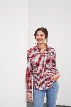 Ladie´s Checked Shirt