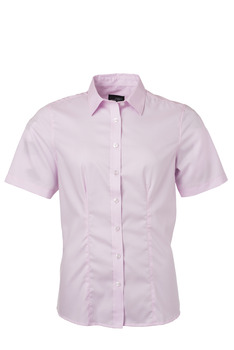 Ladies´ Shirt SSL Micro-Twill