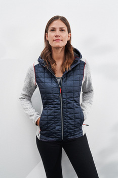 Ladies´ Knitted Hybrid Jacket