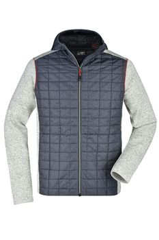 Men´s Knitted Hybrid Jacket