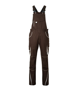 Workwear Pants With Bib - L/2