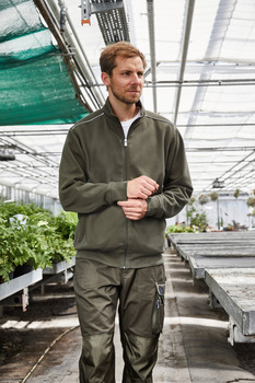 Men´s Workwear Sweat Jacket