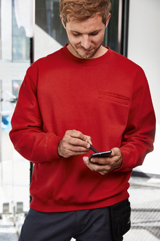 Men´s Round Sweat pocket
