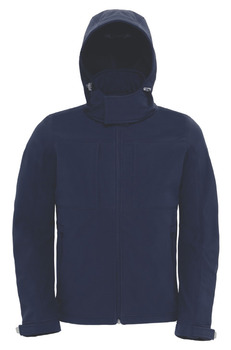 B&C Hooded Softshell /Men