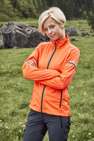 Ladies' Sports Softshell Jacke